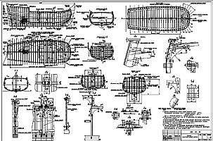 Конструктивный чертеж. Лист 1. Фрагмент (jpg)