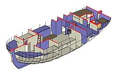 Интерьер 3d модель